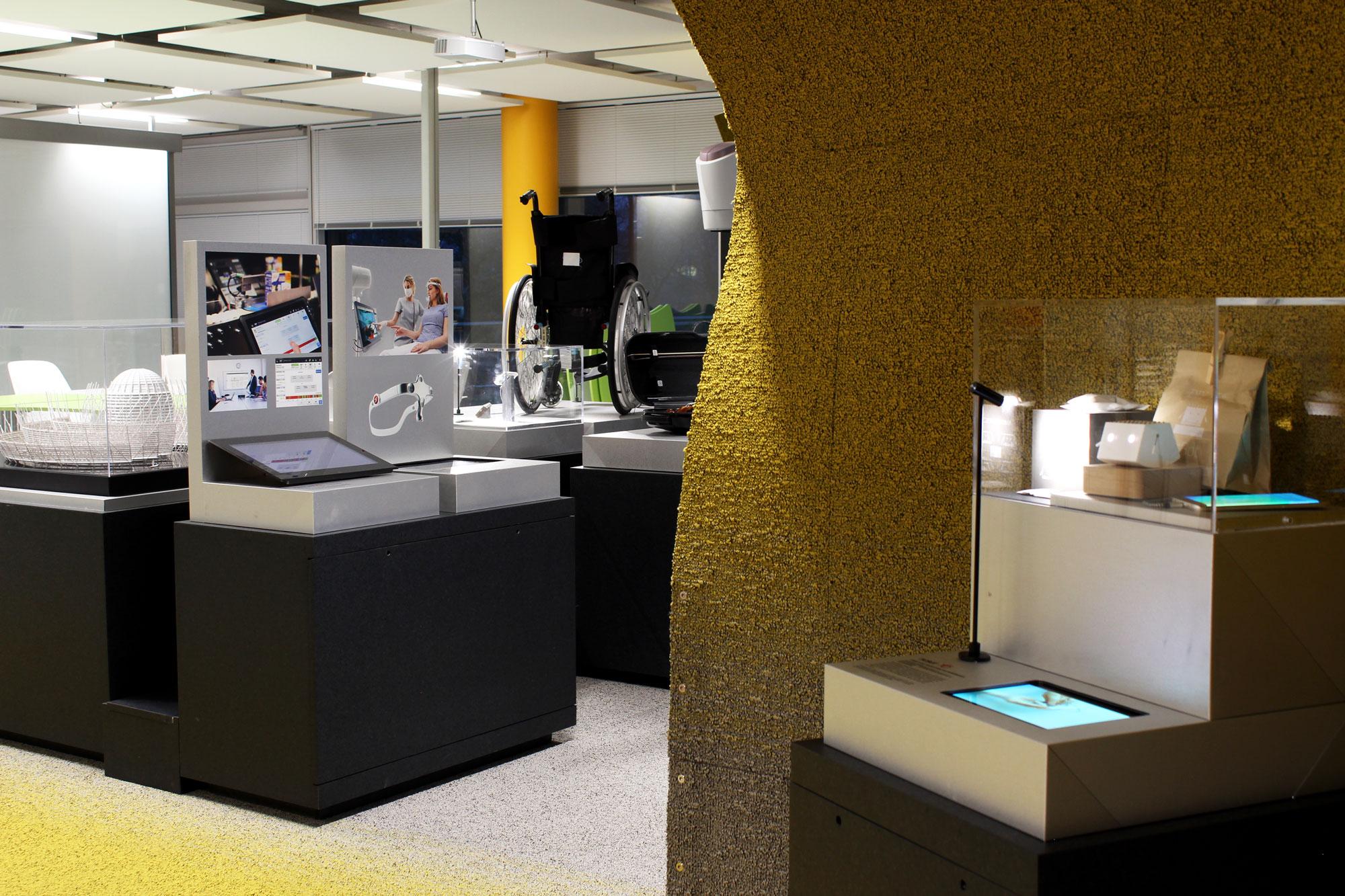 Vue de l'exposition Observeur du design 2018