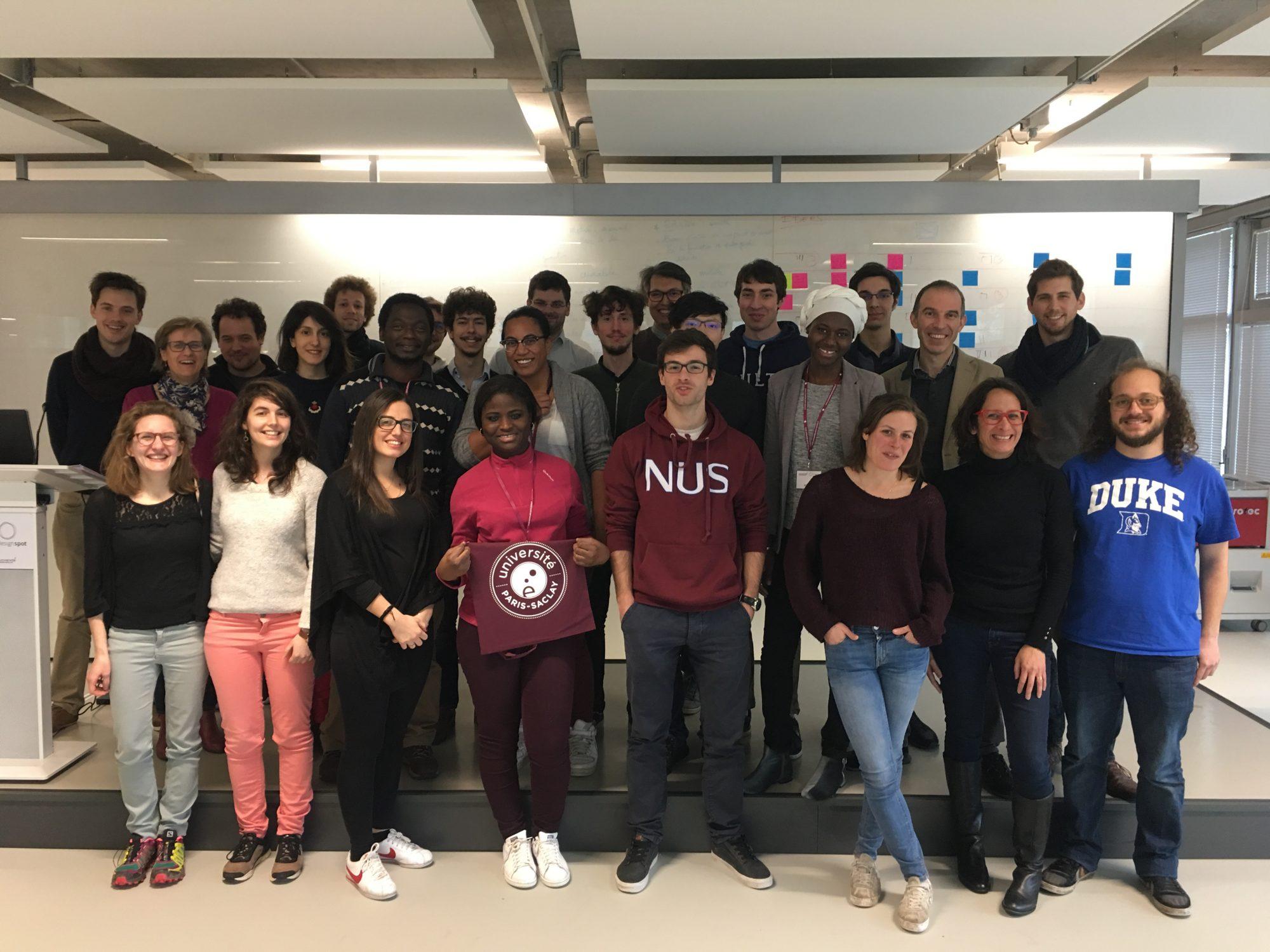 Les participants au parcours Doctor'Preneuriales 2018 de l'Université Paris-Saclay