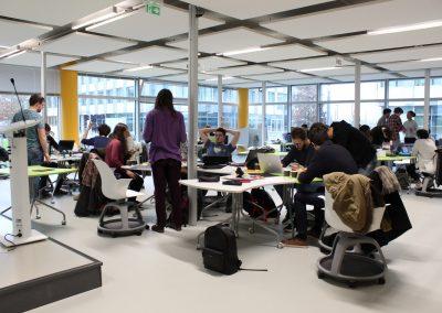 Les équipes réunies au Design Spot à l'occasion d'un workshop en février 2018