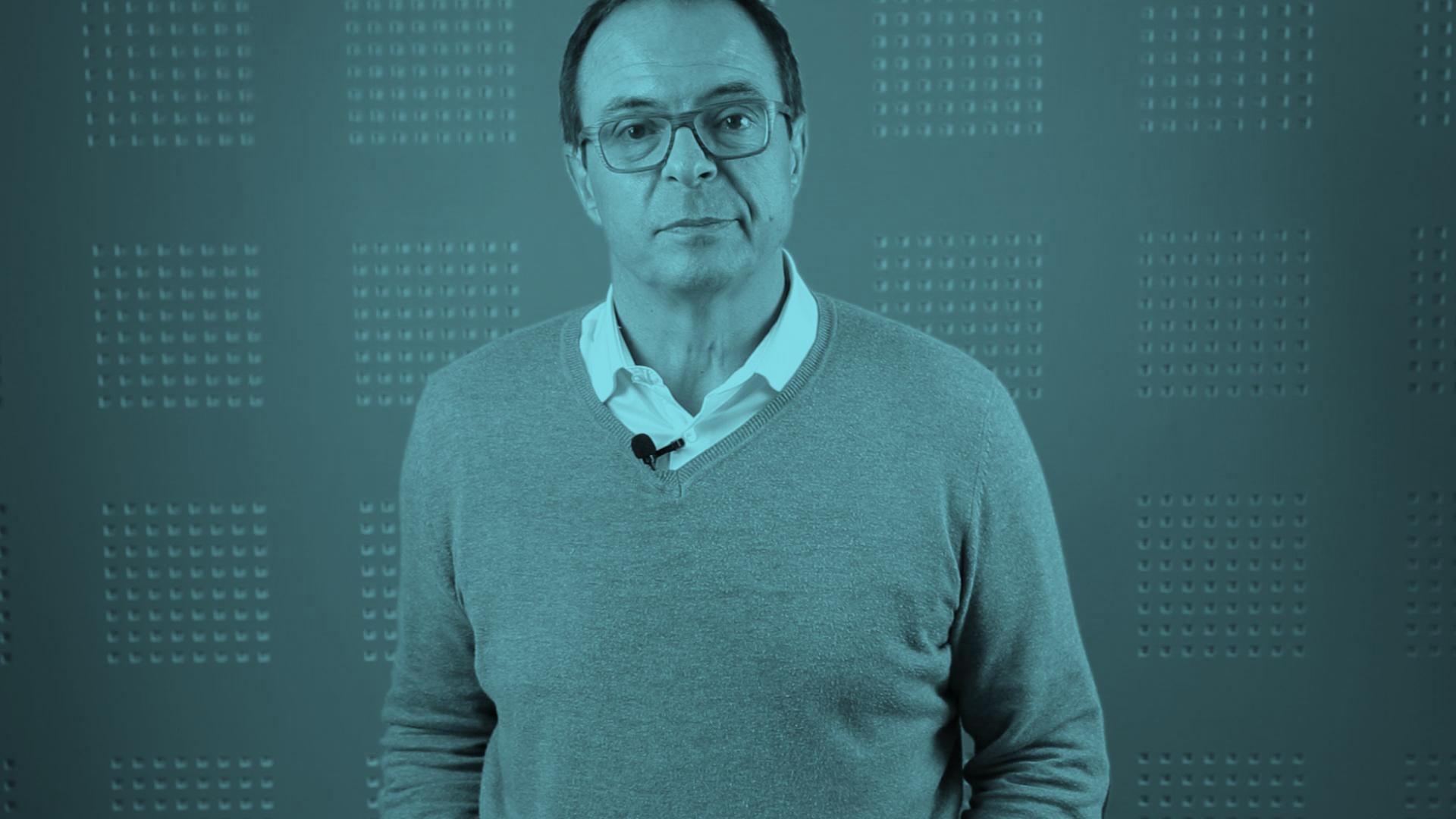 Bertrand Barré, président de l'agence Groupe Zebra
