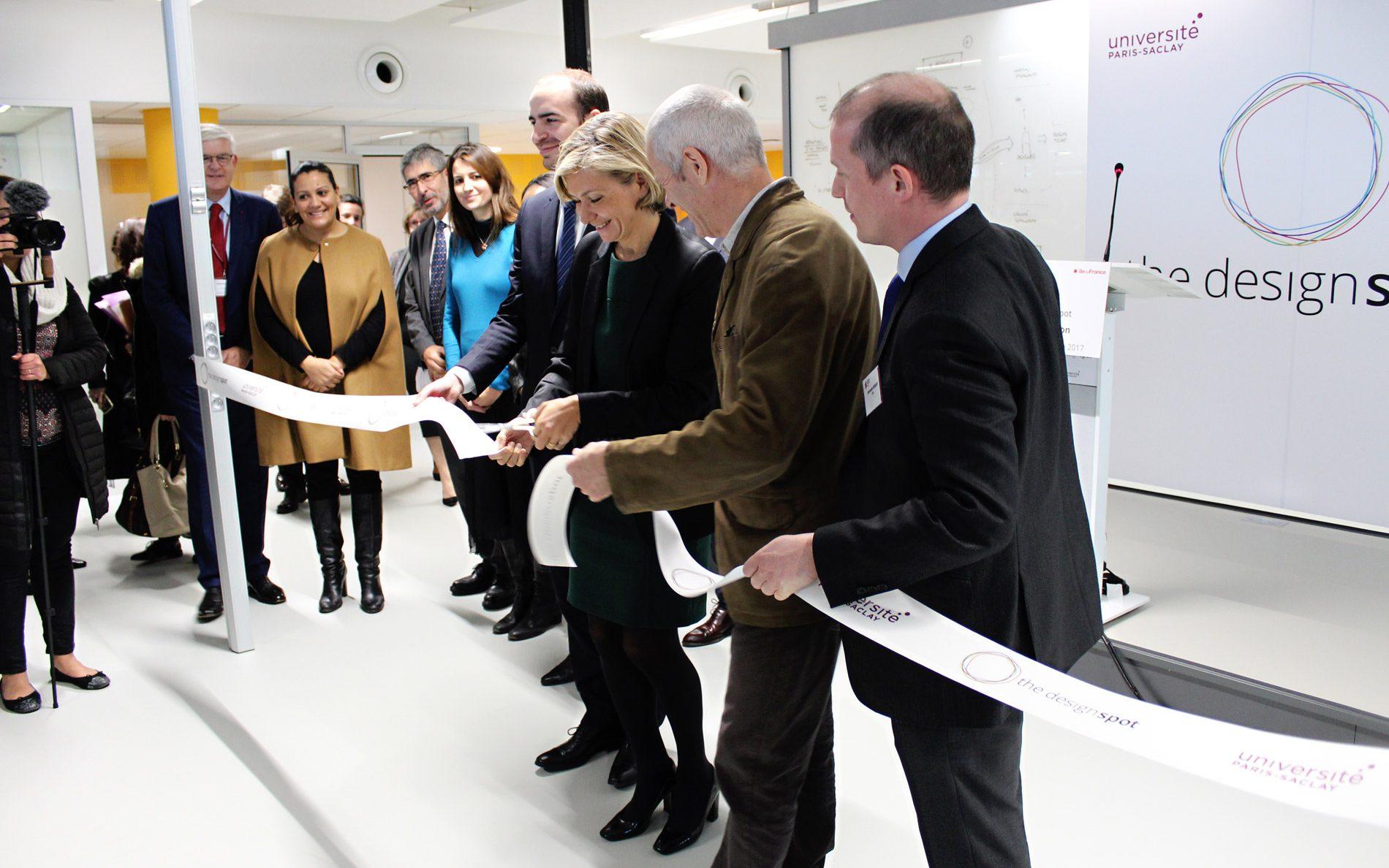 Inauguration du Design Spot : l'Université Paris-Saclay dévoile son centre de design