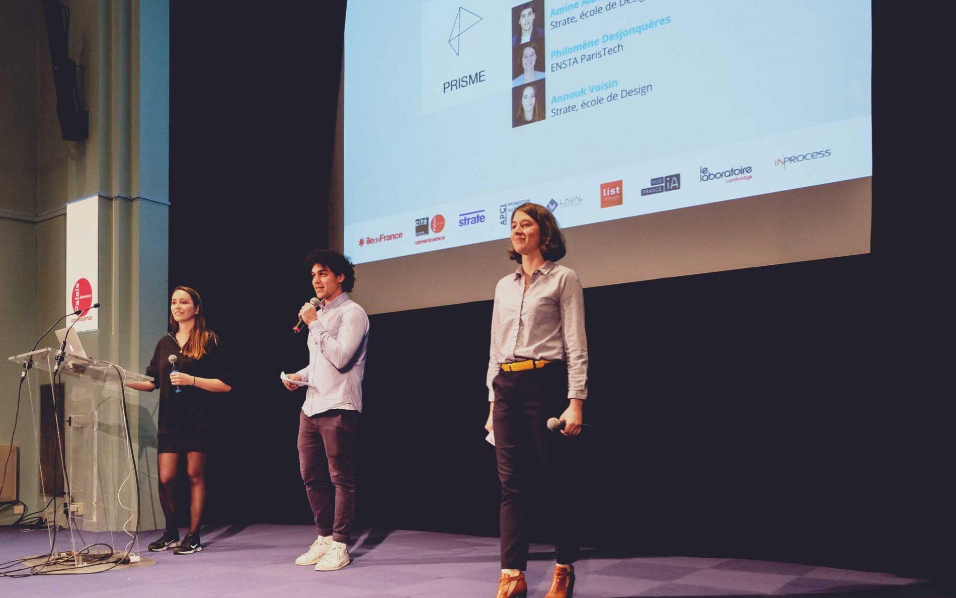 Retour en images sur la finale du Prix Design & Science 2019