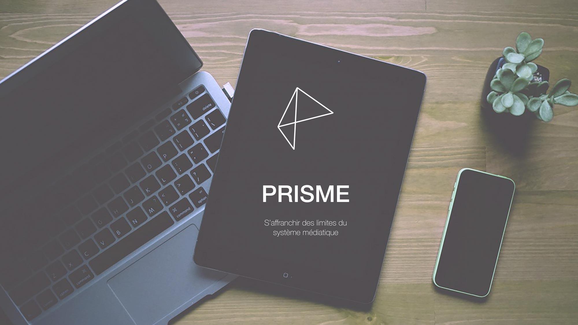 Découvrez l'application Prisme, projet lauréat Prix Design & Science 2019
