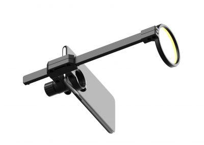 Un appareil optique à fixer sur un smartphone | Eye Care