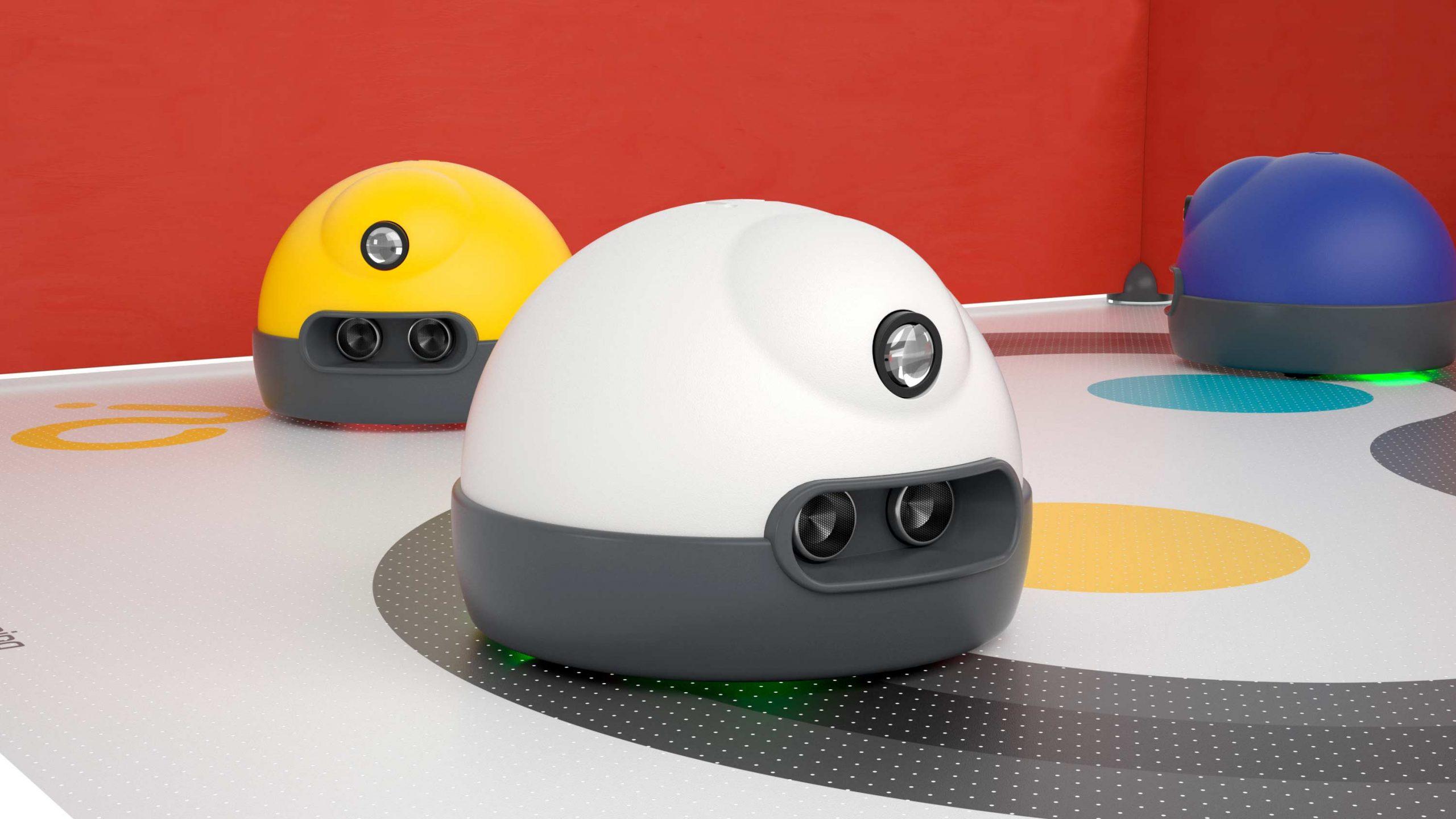AlphAI - Learning Robots : robot pédagogique robot pour enseigner l'intelligence artificielle (IA)
