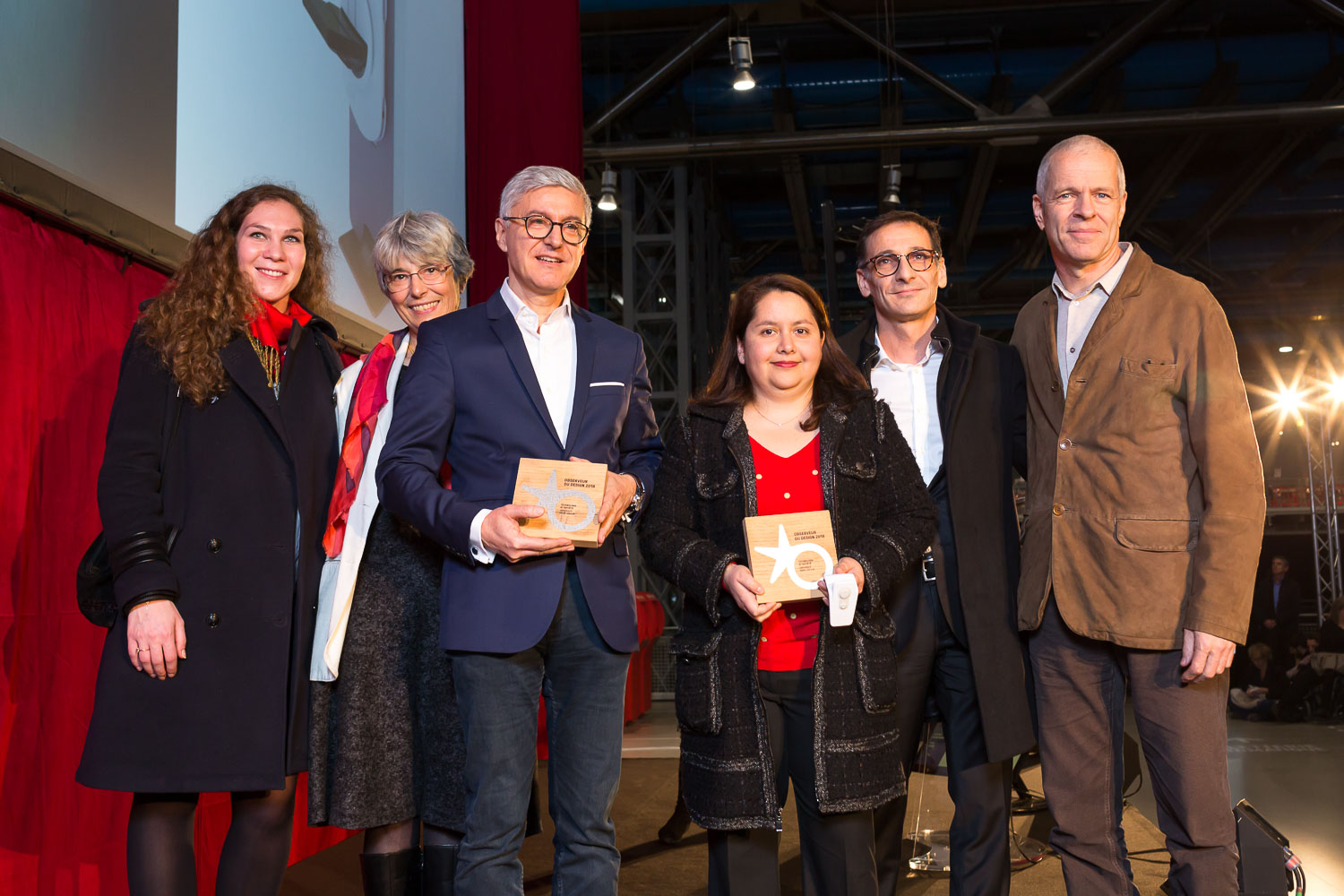 Observeur du design 2018 ceremony at Centre Pompidou, Paris © Franck Parisot
